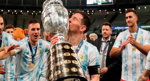 La última vez que la selección de Argentina había conseguido un título fue en el año 1993.