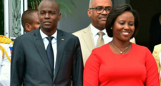 """""""Yo hago mi duelo, pero no podemos aceptar que el país se derrumba"""", dijo Martine Moise."""