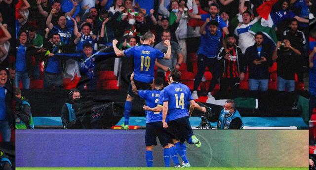 Italia superó a Inglaterra en Wembley y se quedó con la Eurocopa 2021.