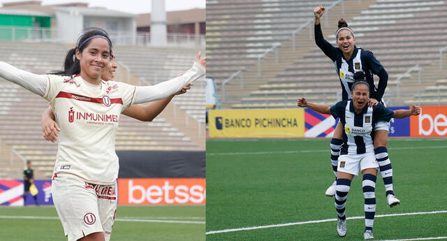 Universitario y Alianza Lima son los dos equipos que lideran la Liga Femenina de Fútbol.