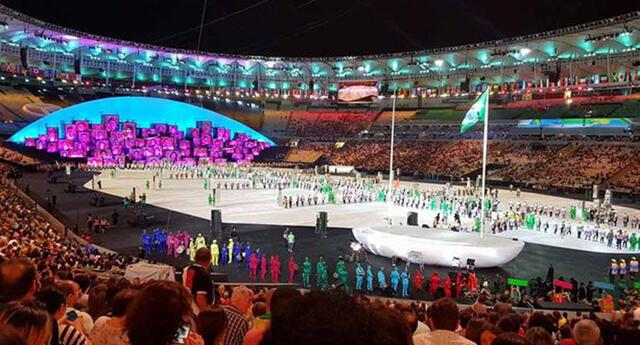 Inauguración de los Juegos Olímpicos Río 2016.