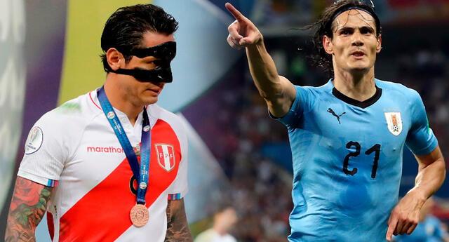 Lapadula marcó un gol más que Edinson Cavani en la Copa América 2021.