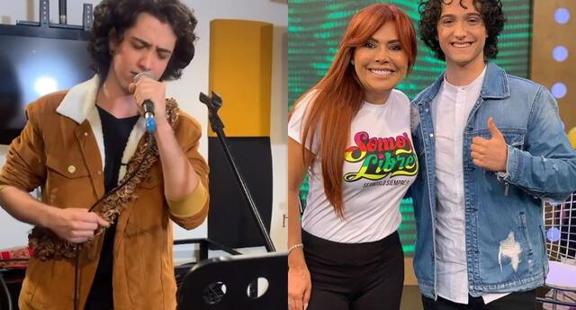 Vasco Madueño agradecido con Magaly Medina y su esposo.