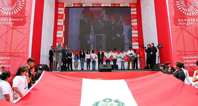 Actividades de la agenda del Bicentenario 2021