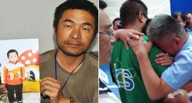 China: Padre de familia encuentra a su hijo secuestrado después de 24 años de incesante búsqueda