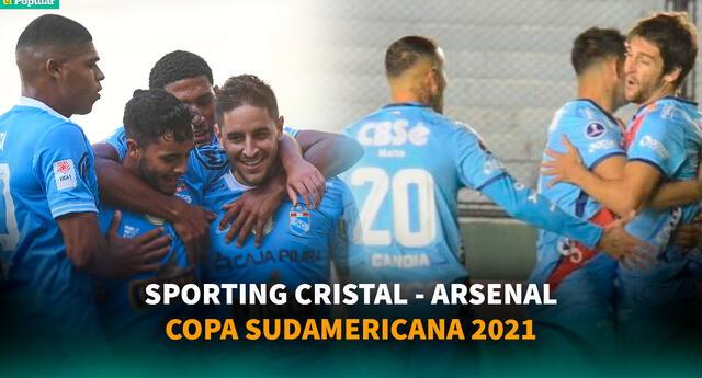 Sporting Cristal vs. Arsenal: sigue la transmisión del parido.