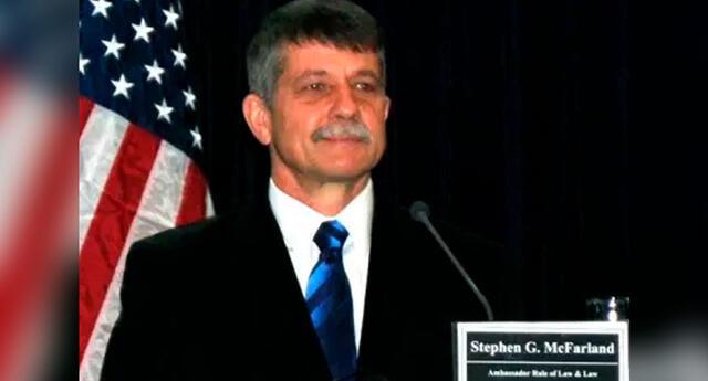 Stephen G. McFarland es un diplomático estadounidense y Embajador de Estados Unidos en Guatemala.