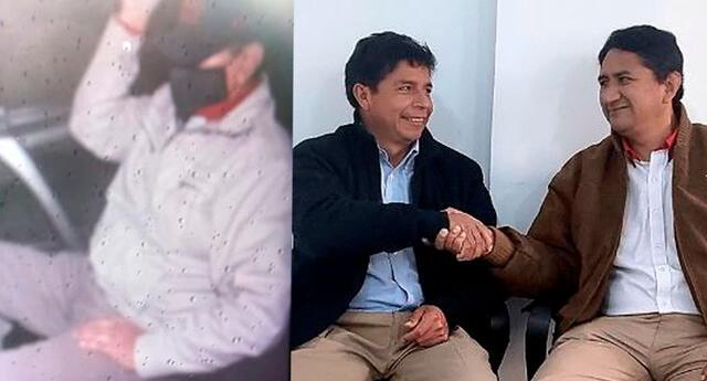 Vladimir Cerrón se reunió con Pedro Castillo en Breña