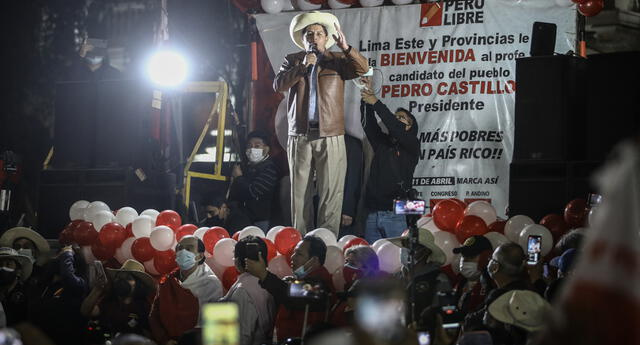 El electo presidente Pedro Castillo se pronunció ante las protestas en la isla caribeña.
