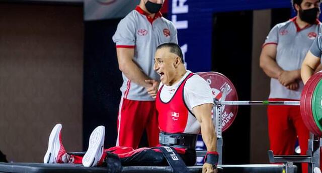 El deportista piurano García logró la medalla de bronce en la Copa del Mundo Bogotá 2021 de Para powerlifting .