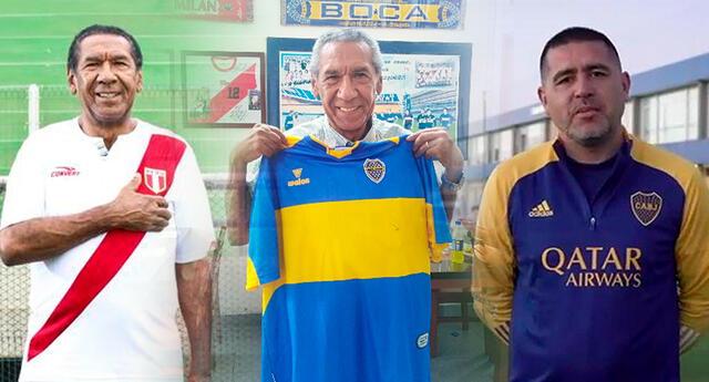 Juan Román Riquelme se contactó con Julio Meléndez por Luis Advíncula.