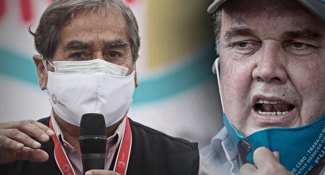 Ugarte rechazó las falsas informaciones de Rafael López Aliaga, quien asegura que la dosis Sinopharm no tiene ninguna efectividad contra la COVID-19.