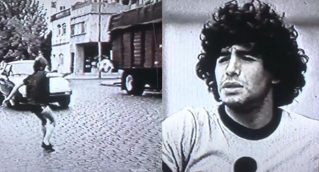 Video de Diego Maradona llamó la atención de los hinchas en las redes sociales.