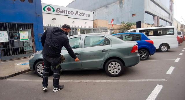 Ladrones golpearon a empresario y se llevaron su dinero.