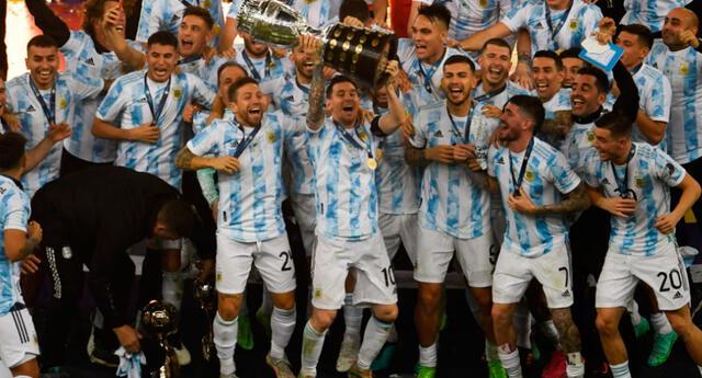 Argentina campeón de la Copa América 2021 tras superar a Brasil en la final desde el legendario Maracaná.
