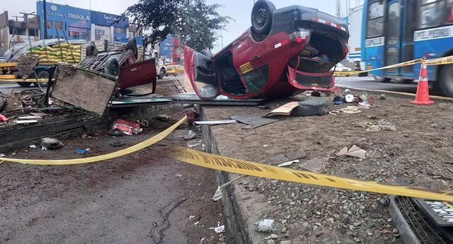 La víctima se encontraba reciclando con su carretilla cuando fue envestido en la avenida Alfredo Mendiola.