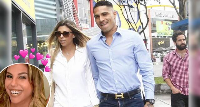 La modelo vive en Brasil con el futbolista peruano.