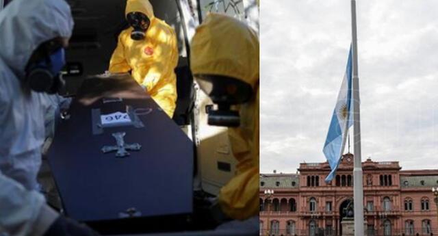 Argentina se ubica en el octavo puesto a nivel mundial de los países con mayores casos de COVID-19 .