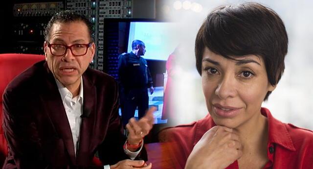 Tatiana Astengo apoya publicación que reclama detener a Phillip Butters.