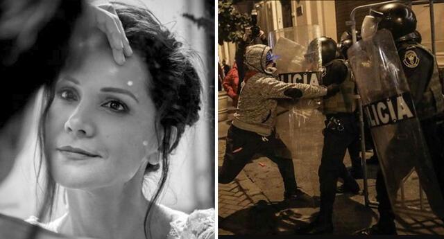 Mónica Sánchez opina sobre el grupo 'La Resistencia'