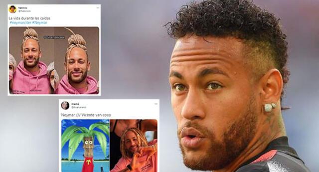 Neymar asombra a sus fans con radical cambio de look y es blanco de memes en redes.