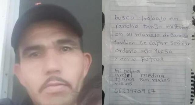 Padre que perdió a su hijo escribe curriculum a mano porque no tenía dinero: recibe 30 ofertas laborales.
