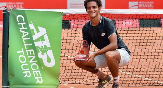 Juan Pablo Varillas demostró su ascenso en el  tenis y se metió en lista para Tokio 2020.