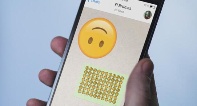 ¿Qué significa el emoji de la carita al revés?