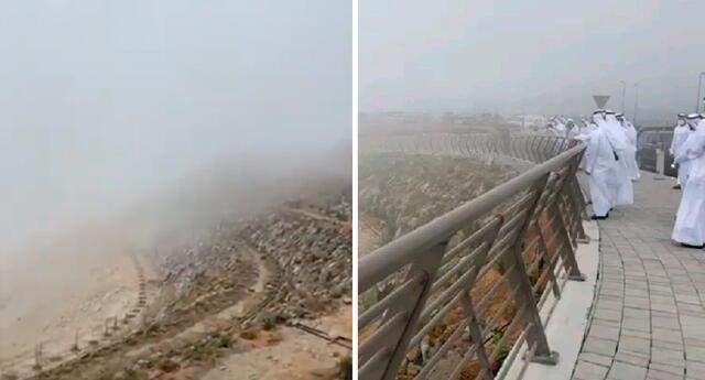 Las autoridades de los EAU han estado desarrollando activamente tecnologías para inducir la lluvia en las áreas más secas durante los últimos años.