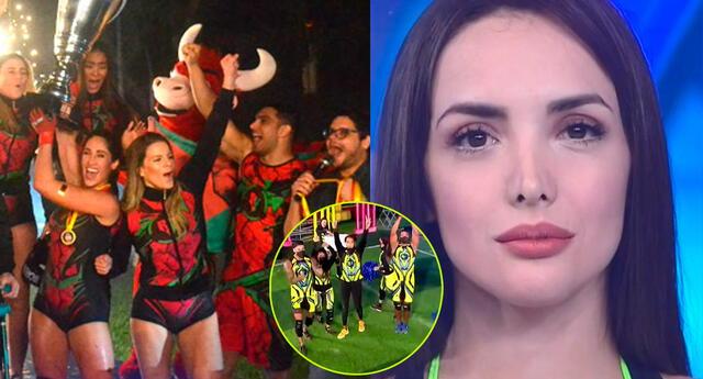 Rosángela Espinoza confesó que no se siente cómoda con su equipo, los combatientes.