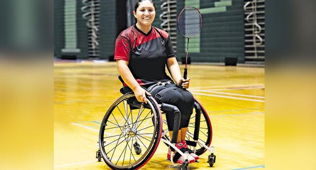 Pilar Jáuregui La para bádmintonista que estará en los juegos Paralímpicos de Tokio. Palmas para ella.