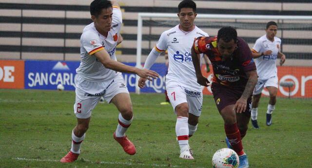 Grau tuvo ocasiones para marcar pero al final se fue con 0-0 con Cultural Santa Rosa.