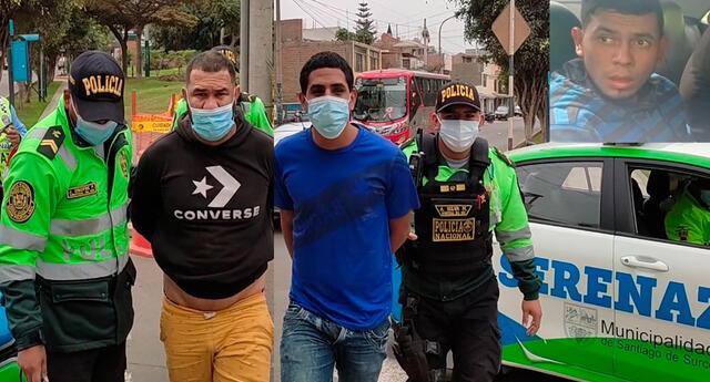 Tres de los extranjeros capturados