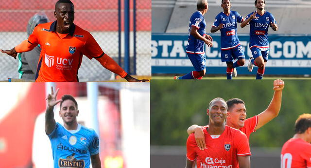 Mena, Felipe Rodríguez, Hohberg y Ayarza son primeros artilleros de la Liga 1.