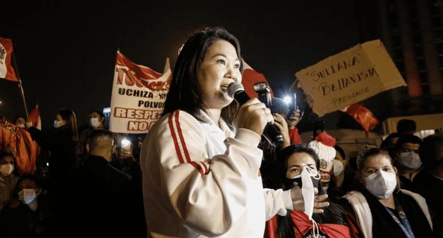 Partido de Keiko Fujimori se resiste a perder Elecciones 2021.