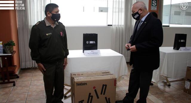 Entregan nuevos equipos informáticos de última generación para el Fuero Militar Policial