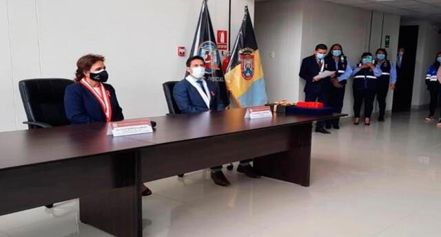 Presidenta del Poder Judicial Elvia Barrios implementa