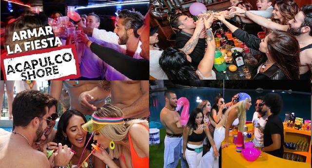 Acapulco Shore las fiestas más recordadas de la casa.