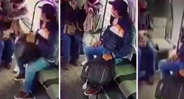 El video se ha vuelto viral en las redes sociales.