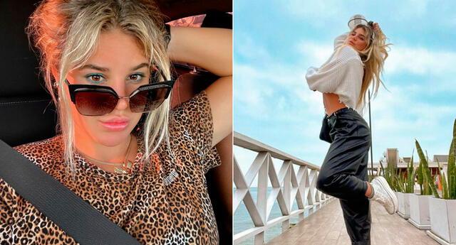 La chica reality Macarena Vélez viene siendo duramente criticada por su llamativo look.