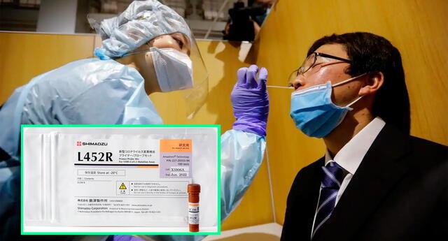 La compañía de Japón planea producir 10,000 pruebas al mes, y desde ya el kit se está vendiendo a empresas y centros de salud pública.