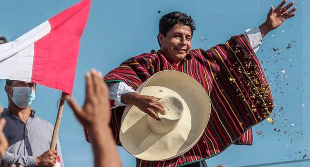 Pedro Castillo agradeció a los simpatizantes de Perú Libre por exigir su proclamación al JNE