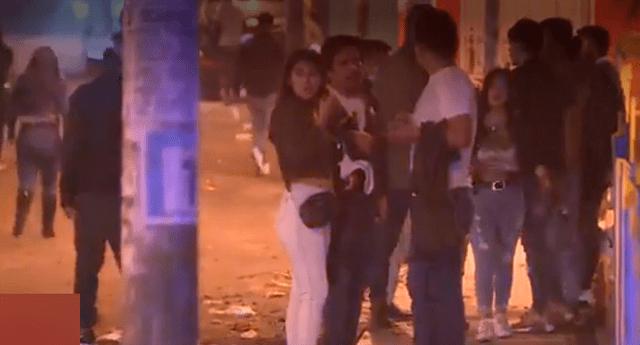PNP intervino tres locales donde se realizaban fiestas covid.