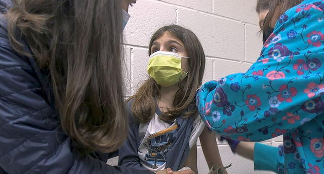 Vacunarán a menores hasta 12 años durante este año