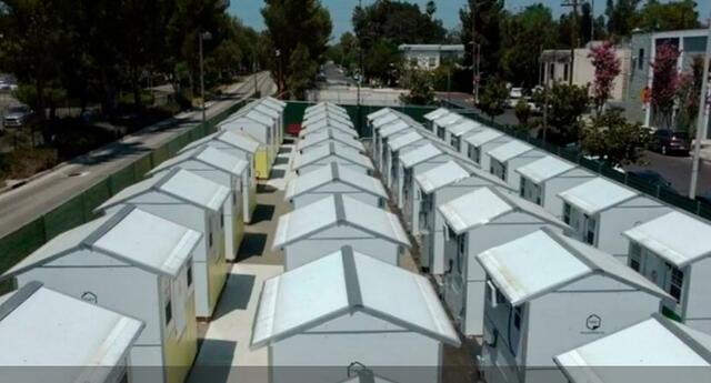 Con un costo de 6,500 dólares por unidad, se puede montar estas viviendas en solo 90 minutos.