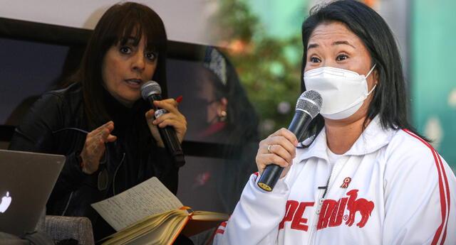 Patricia de Río cuestiona postura antidemocrática de Keiko Fujimori.