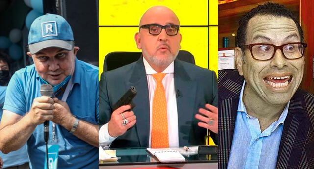 Rafael López, Phillip Butters y Beto Ortiz, son investigados