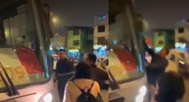 Sujetos atacaron con piedras bus del Corredor Rojo