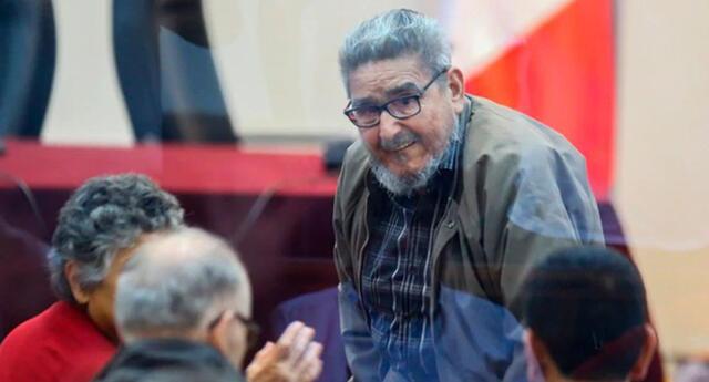 Abimael Guzmán presentó problemas cardiacos