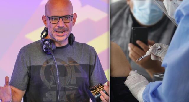 El productor Ricardo Morán compartió el cronograma del Vacunatón, y advirtió a sus seguidores los peligros de no ser inoculados.